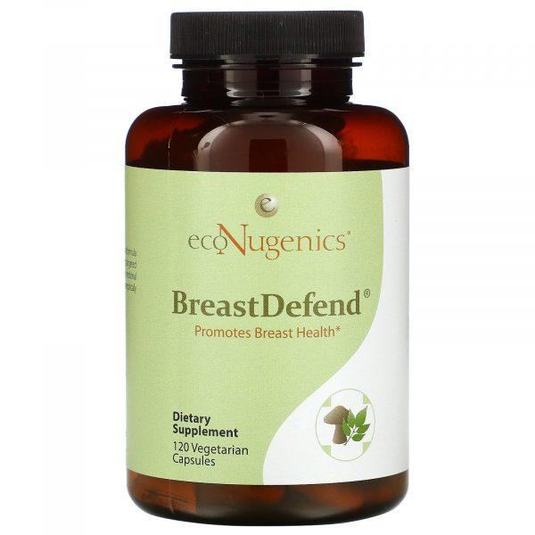Econugenics, BreastDefend, 120 Vegetarian Capsules