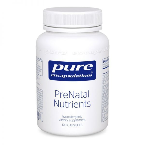 PreNatal Nutrients by Pure Encapsulations supplement