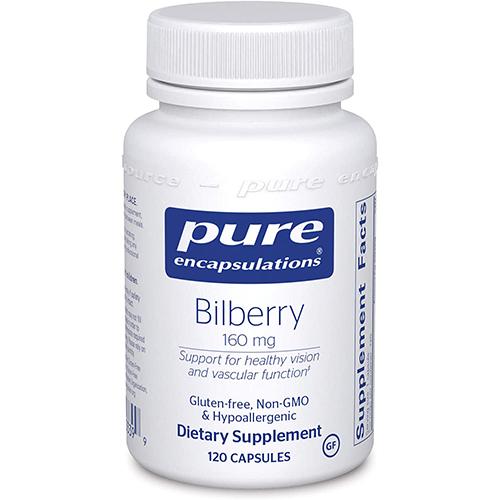 Bilberry capsules